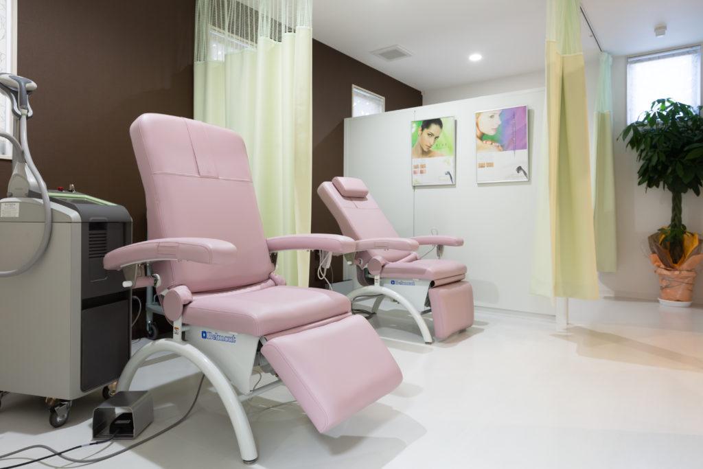 美容内科施術室